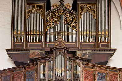 Die Stellwagen-Orgel in St. Jakobi - Copyright: Peter Müller